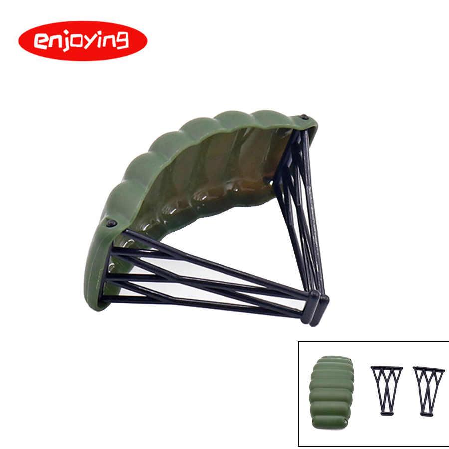 Serie militar bloques de construcción juguetes de ladrillo para niños SWAT de ciudad arma de policía armas paquete ejército WW2 accesorios para arma