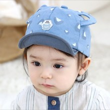 Cute Baby Boy Girl Autumn Winter Home Outdoor Hat Cotton Soft Warm Lovely White Dot