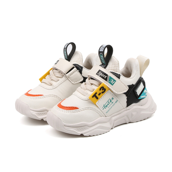 2019 new arrivals girls sneakers shoes pu leather comfortable casual for boys kids sports fashion child