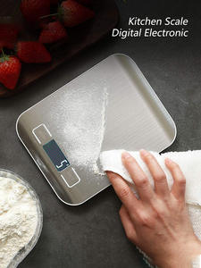 Kitchen-Scale Lcd-Display-Accessory Food-Weight Baking Digital Electronic with Accuracy