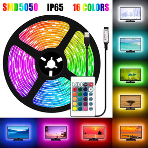 16Colors 5050 LED Strip Lights