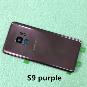 Image 2 - SAMSUNG Back Battery Cover For Samsung Galaxy S9 G960 SM 960F S9 Plus S9+ G965 SM G965F Back Rear Glass Case + Tools