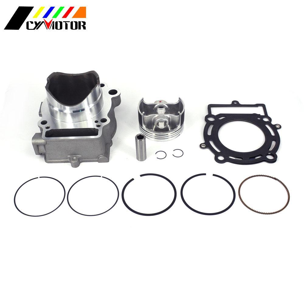 Kits de cylindres de moteur de moto avec Piston et segment de Piston pour ZONGSHEN 77MM NC250 250cc 300cc KAYO T6 K6 esb J5 RX3 ZS250GY-3