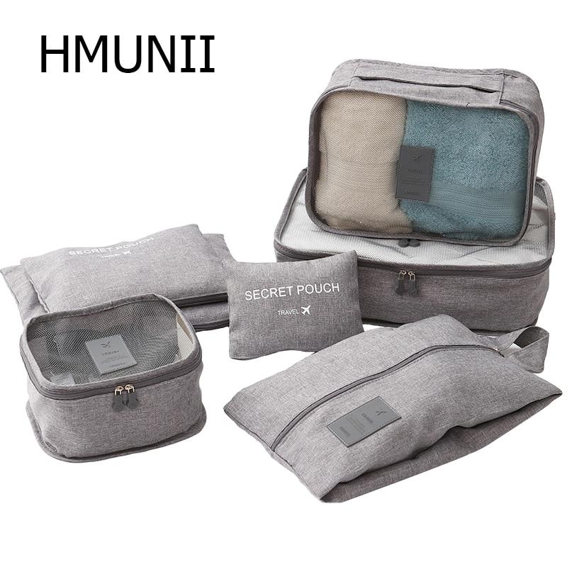 HMUNII® High Quality Travel Garment Folder Bag Business Packing Organizers
