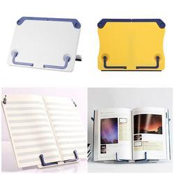 Портативная подставка для книг, подставка для чтения книг, полка для рецептов, складной держатель для кулинарной книги, органайзер для музы...