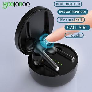 Image 1 - 5,0 Bluetooth наушники TWS Беспроводные стерео Bluetooth наушники с микрофоном в ухо спортивные водонепроницаемые игровые Вкладные наушники гарнитура