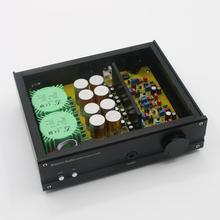 פרסום חדש E300MK2 אוזניות מגבר HiFi שולחן העבודה אוזניות Amp מבוסס על ELECTROCOMPANIET מעגל