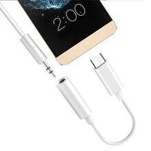 osevporf type c to 3 5mm headphone jack 3 5 aux usb c cable for huawei p30 p20 pro xiaomi mi 9 8 oneplus 7 audio usb c adapter New Type C 3.5 mm Jack Earphone Audio cable USB C to 3.5mm AUX Headphones Adapter For Huawei V30 mate 20 P30 pro Xiaomi Mi 10 9