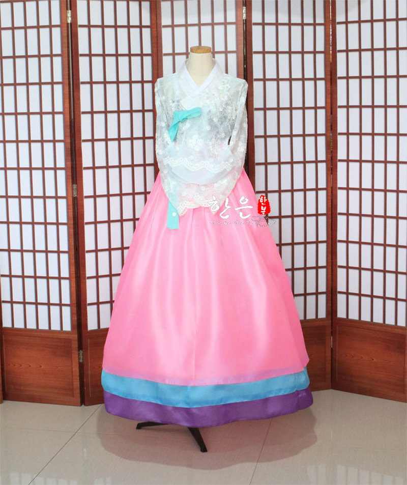 Korea Imported Fabric / New Improved Hanbok / Bride Hanbok / Fine Hanbok