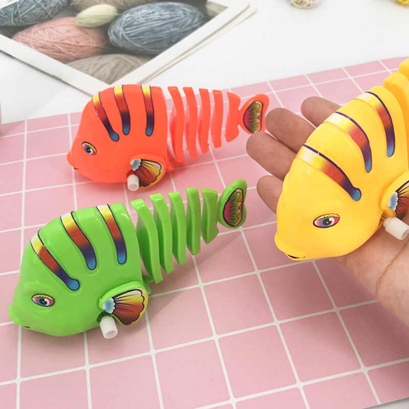80 Nostalgic Stall Hot Selling Shang Hong Rivalry Pendant Sway Fish Kids Infants Spring Baby CHILDREN'S Toy