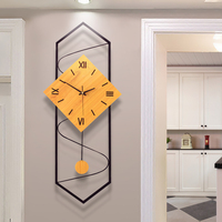 Clock Wall Clock Living Room Nordic Modern Creative Simple Clock Home Fashion Quiet Personality Decorative Clock Hanging