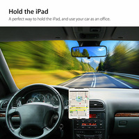Soporte Universal para tableta de 4 - 12 pulgadas, ranura para CD de coche, soporte para teléfono móvil, montaje giratorio para iPad, Samsung pad