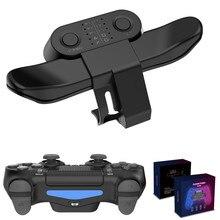Controller pulsante indietro attacco per SONY PS4 Gamepad Joystick pulsante posteriore con adattatore per chiave di estensione Turbo accessori di gioco
