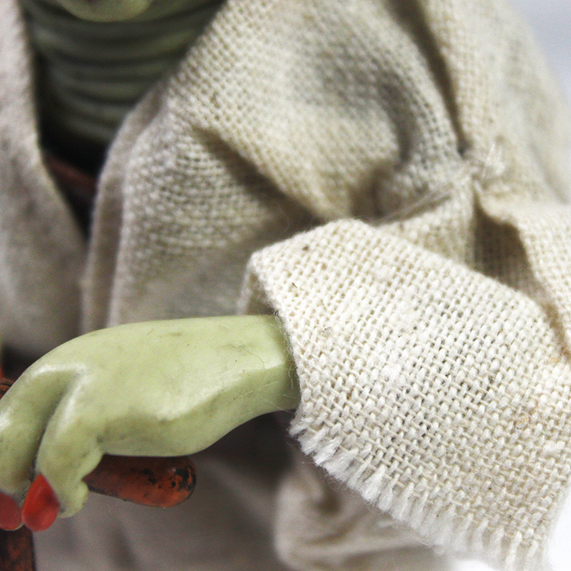 Star Wars Monster Yoda Darth Vader Action Figure Doll Toys The Force Awakens Jedi Master Yoda Anime Figures Lightsaber 7