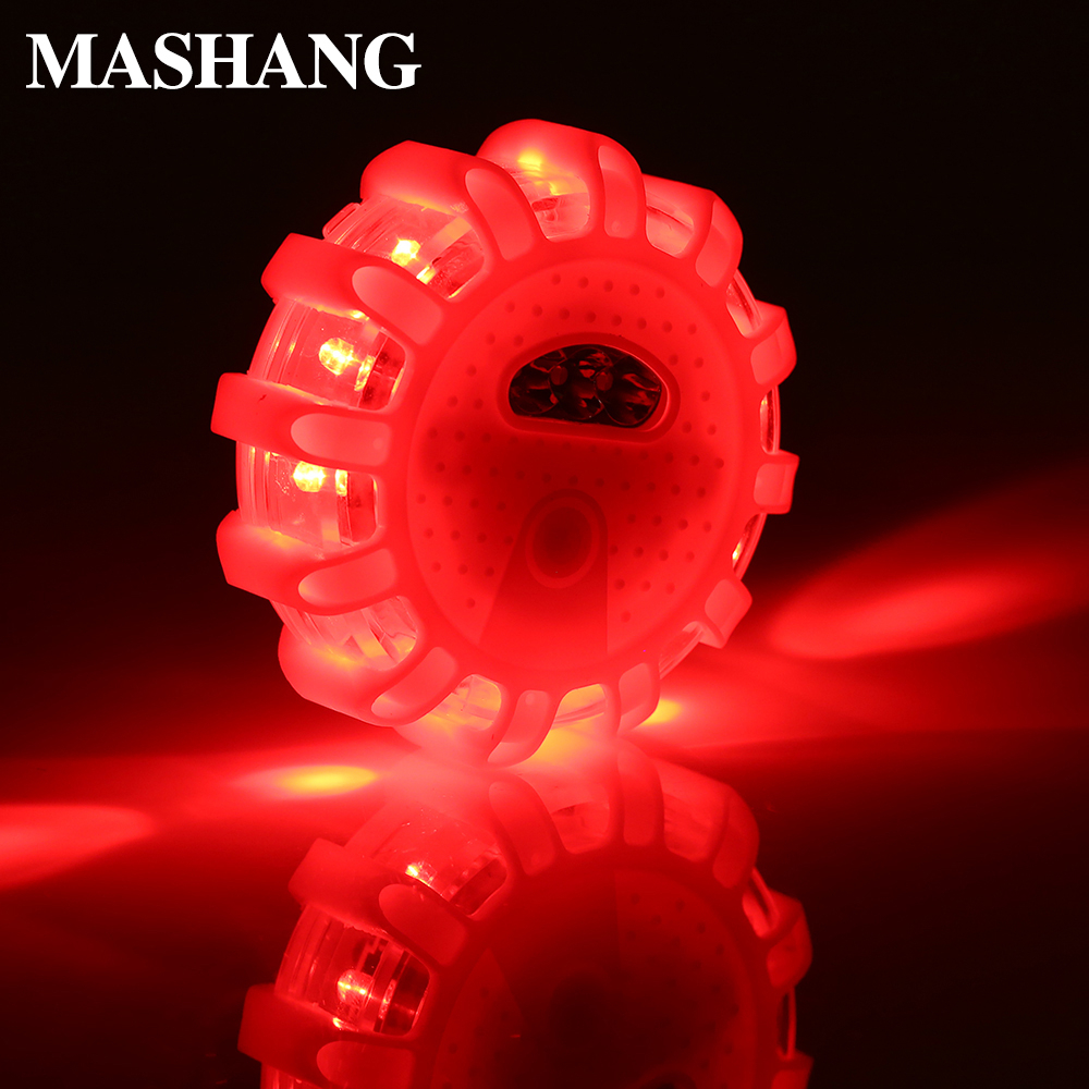 LED Emergency Light LED Flashing Warning Light 15leds Waterproof SOS Safety Lamp Emergency Field Profession Lamp For Cars