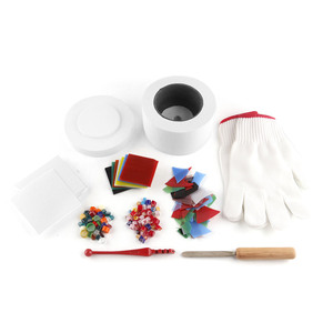 Image 5 - אמנויות מלאכות תפירת DIY תכשיטי ביצוע ידני גדול מיקרוגל כבשן סט פיוזינג זכוכית כבשנים קרמיקה אביזרי אספקת כלים
