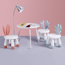 Children #8217 s stools back chairs plastic thickened kindergarten children #8217 s cartoon small benches lovely non slip household seats cheap