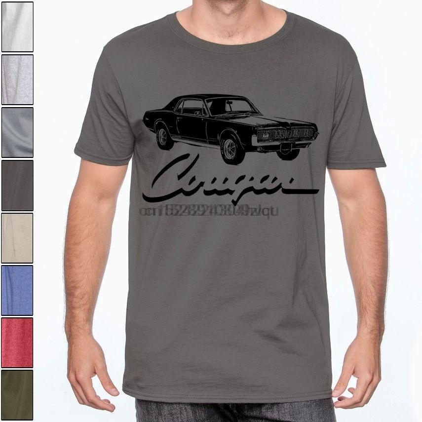 I don`t snore I dream I`m a MERC Mercury Cougar 1967 Mens Car T-Shirt