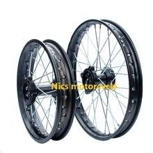 Диски Центр 15 мм 90-100-14 70-100-17 XR CRF TTR BBR передние и задние для колеса в мотокроссе грязи питбайк