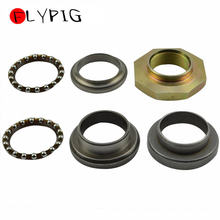 FLYPIG New Steering Rod Bearing Ring Kit Fit for YAMAHA PW50 PW 50 1981-2014  Aftermarket Parts