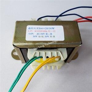 Image 3 - 24V 30V 10V Transformer 220V EI66 30VA Transformer 26V 34V 10.6V Hot air gun desoldering station soldering element 898BD 852D+