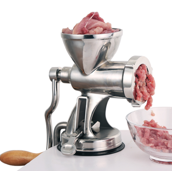 Manual Meat Grinder Noodle Sausage Handheld Making Gadgets Mincer Home Kitchen Cooking Tools Food Processor food mixers bosch mfq2210p home kitchen appliances processor machine equipment for the production of making cooking