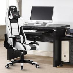 Silla de juegos Furgle Pro segura y duradera silla de oficina ergonómica Silla de cuero para juegos WCG Silla de ordenador sillas de trabajo pesado