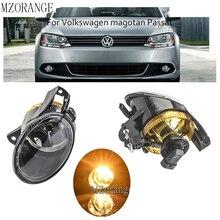цена на Front Fog Lamp Fog Light Halogen bulb For Volkswagen Passat B6 3C Sedan Wagon Variant 2006 2007 2008 2009 2010 2011