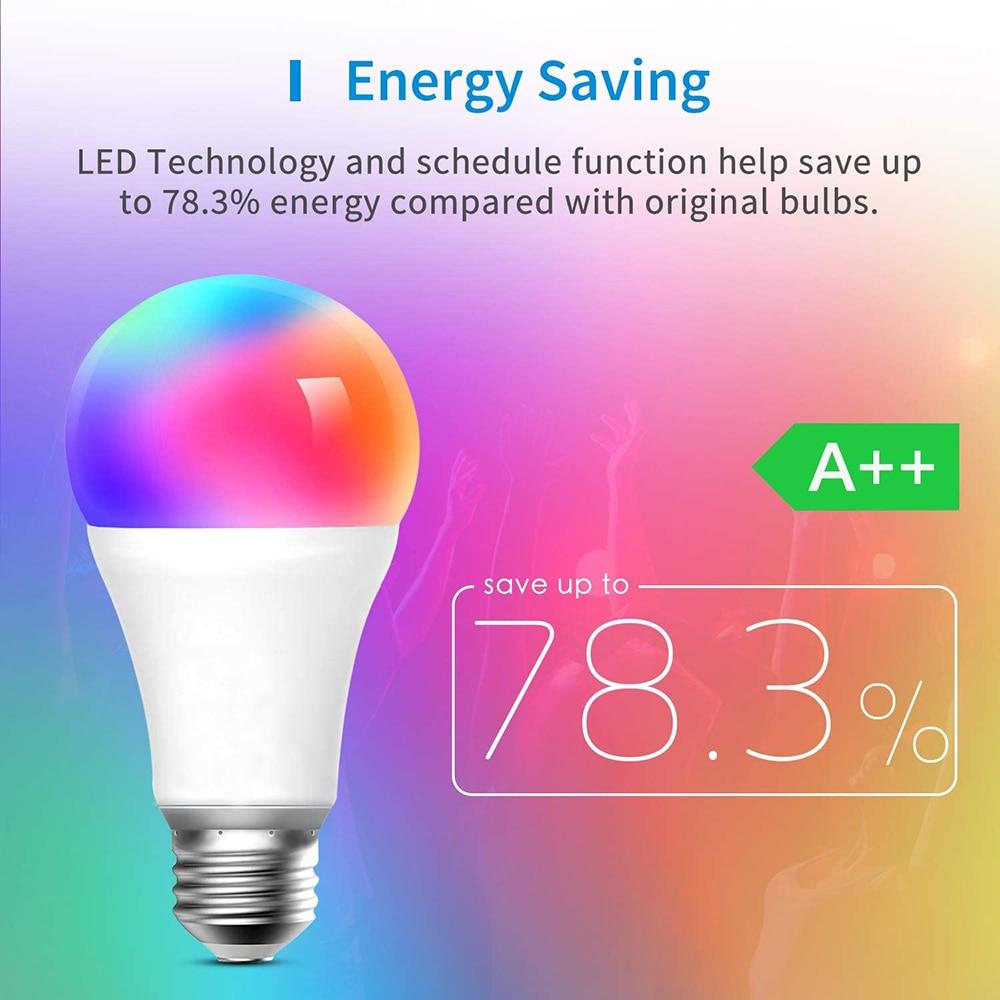 Smart Light Lamp Wifi Bulb 5W 20W Color Changing RGB LED Bulb E27 B22 Timer APP Remote Compatible Alexa Google Home Siri Smart|LED Bulbs & Tubes| - AliExpress