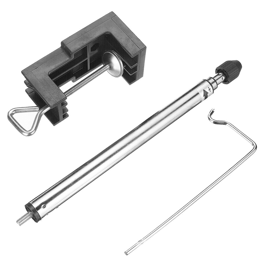 Multifunction Bracket Clamp-On Rotary Grinder Stand Flexible Shaft Electric Grinding Fittings 360 Degrees Mini Drill Adjustment
