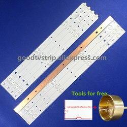 LED الخلفية شرائط (8) ل فاي الشفاه CL-47-D407-R-V2 CL-47-D407-L-V2 استبدال ل CL-47-D407-R-V4 CL-47-D407-L-V4