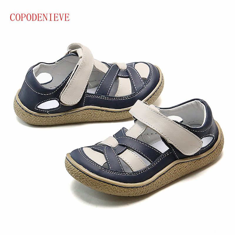 COPODENIEVE New Style Of Fashion Casual Boys Girls Sandal For Baby Shoes Anti-Slip Children Sandals  Girls Sandals Sandals Kids