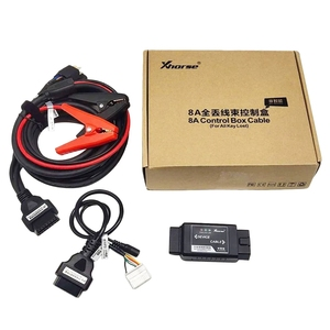 Image 3 - Xhorse VVDI Key Tool MAX Car Key Programmer with VVDI 8A Control Box Cable for Toyota 8A All Keys Lost Adapter MINI OBD Tool Kit