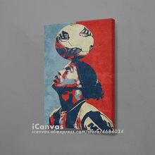 Ronaldinho hopestyle poster design lona arte da parede decoração de impressão para sala estar crianças quarto casa decoração