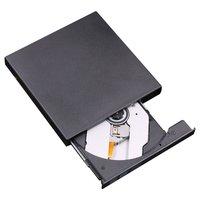 USB CD/DVD-RW Writer Burner External Hard Drive for Laptop PC Mac Macbook Pro CD RW DVD ROM Intelligent Burning