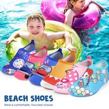 Dla dzieci skarpety do nurkowania boso do uprawiania sportów wodnych skóra buty Aqua Sock nurkowanie z rurką nadmorski basen antypoślizgowe skarpetki antypoślizgowe plażowy but tanie tanio CN (pochodzenie) Lato Damsko-męskie 25-36m 4-6y 7-12y 12 + y podstawowe Z elany Płytkie Bez koronki TPR thermoplastic elastomer
