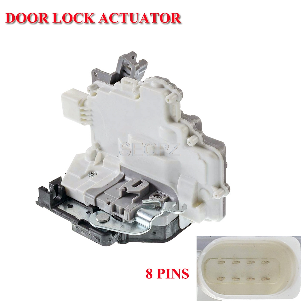Rear Driver Side Door Lock Actuator Central Locking for Seat Leon 1P0839016 9pin