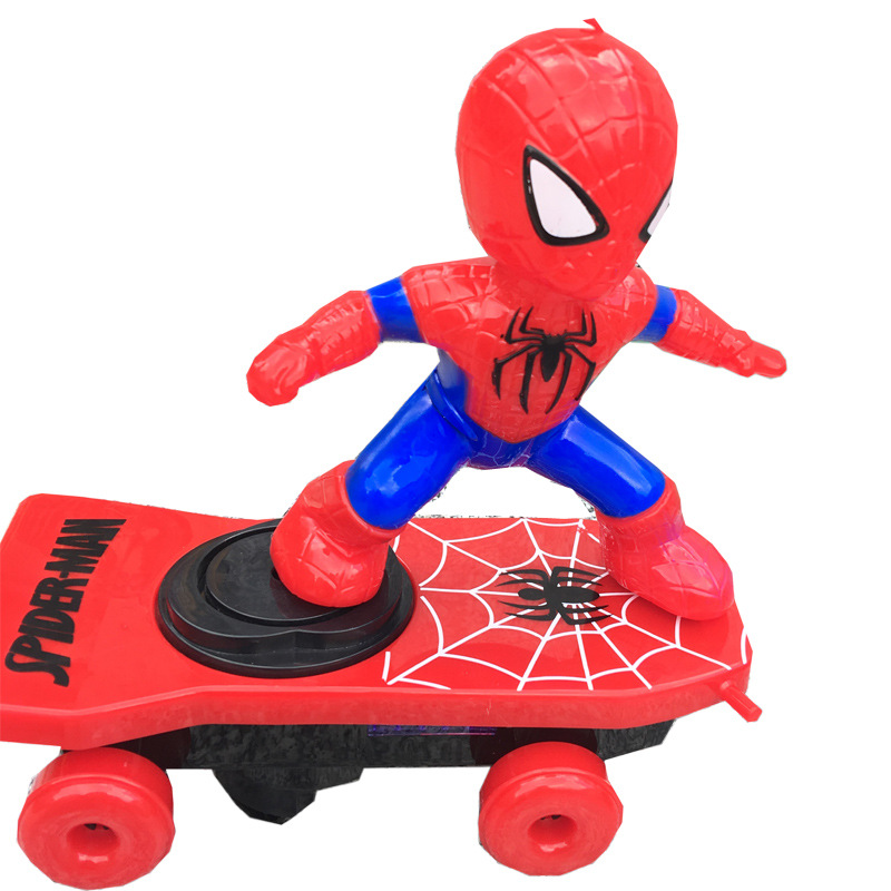 Douyin Celebrity Style Electric Spider Scooter Charging Children Stunt Car Toy GIRL'S And BOY'S Birthday Gift