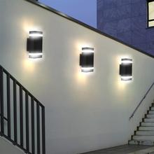 Double Up And Down LED Wall Light For Indooe Bedroom Decoration Outdoor Garden Emergency Light