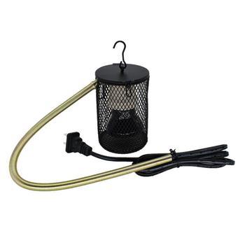 Lámpara cálida para loros, lámpara de calefacción para tortugas, jaula de pájaros, cubierta de lámpara de cerámica, suministros de invierno para reptil lagarto, calentador para pájaros