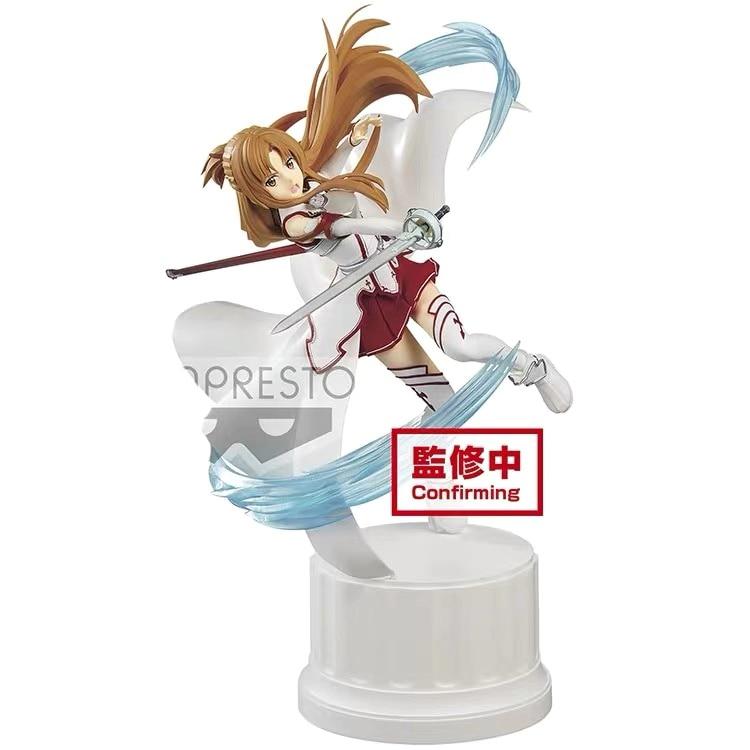 In Stock Banpresto Sword Art Online Espresto Point Extra Motions Asuna Figure PVC Action Figure Model Figurals