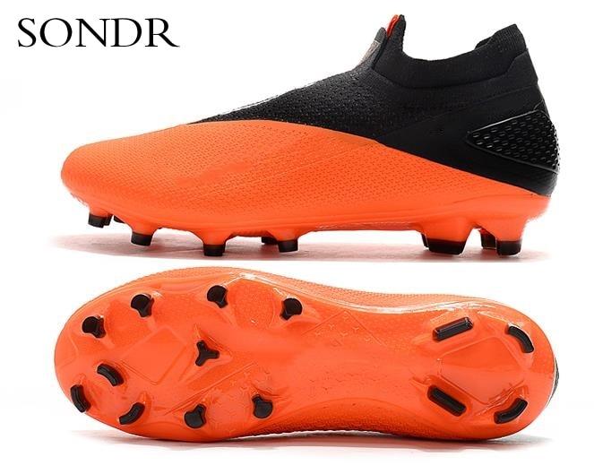 Новые уличные мужские футбольные бутсы высокие лодыжки бутсы тренировочные спортивные кроссовки FG - 3