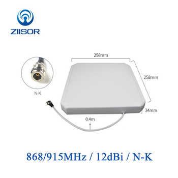 Lora, antena de 868 MHz lector RFID de 915 MHz de largo alcance antena N mujer direccional Panel antena wifi de largo alcance