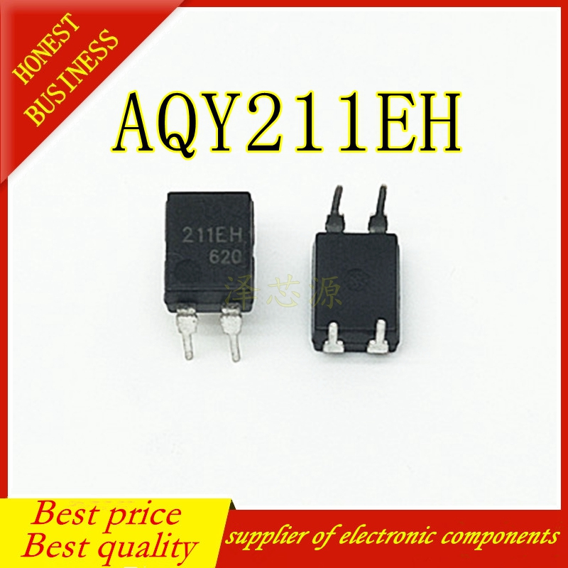 50PCS/LOT AQY211EH 211EH DIP4 DIP-4 Optocoupler Photoelectric Coupling