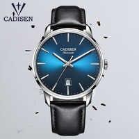 CADISEN-relojes de lujo para hombre, automático, mecánico, de negocios, NH35A, Masculino, 2020
