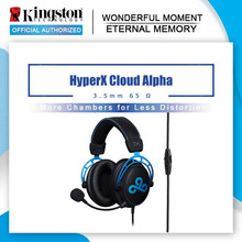 Kingston HyperX Cloud Alpha Cloud9 E-Olahraga Headphone dengan Mikrofon Headset Gaming Paduan FPS RGB Keyboard Double Shot Tombol(China)