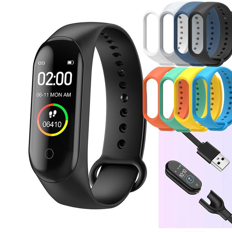 M4 Смарт-часы bluetooth 4,0 спортивный браслет iOS Android фитнес-трекер Смарт-часы женские измерение артериального давления шагомер