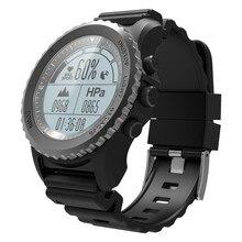 Stepfly S968 Waterdicht Smart Horloge Hartslag Barometer Thermometer Bluetooth Gps Sport Smartwatch Voor Android Ios