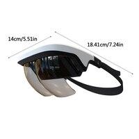 Cuffie VR dispositivo di esperienza AR portatile anti-impronta digitale e antigraffio