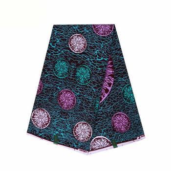 Ankara wax Real Nigeria Wax Prints Fabric 2020 High Quality 6yard 100% cotton Ghana wax Fabric For Party Dress 2019 new arrival nigeria ghana 100